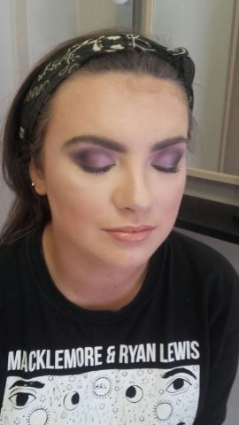 woman with light make up