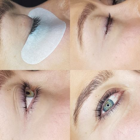 eye lashes lift
